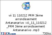 vii 11 110212 PRM 3ème arrondissement Antananarivo